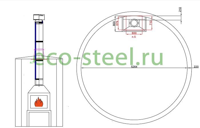 Диаметр дымохода для барбекю дымоход к твердотопливному котлу цена